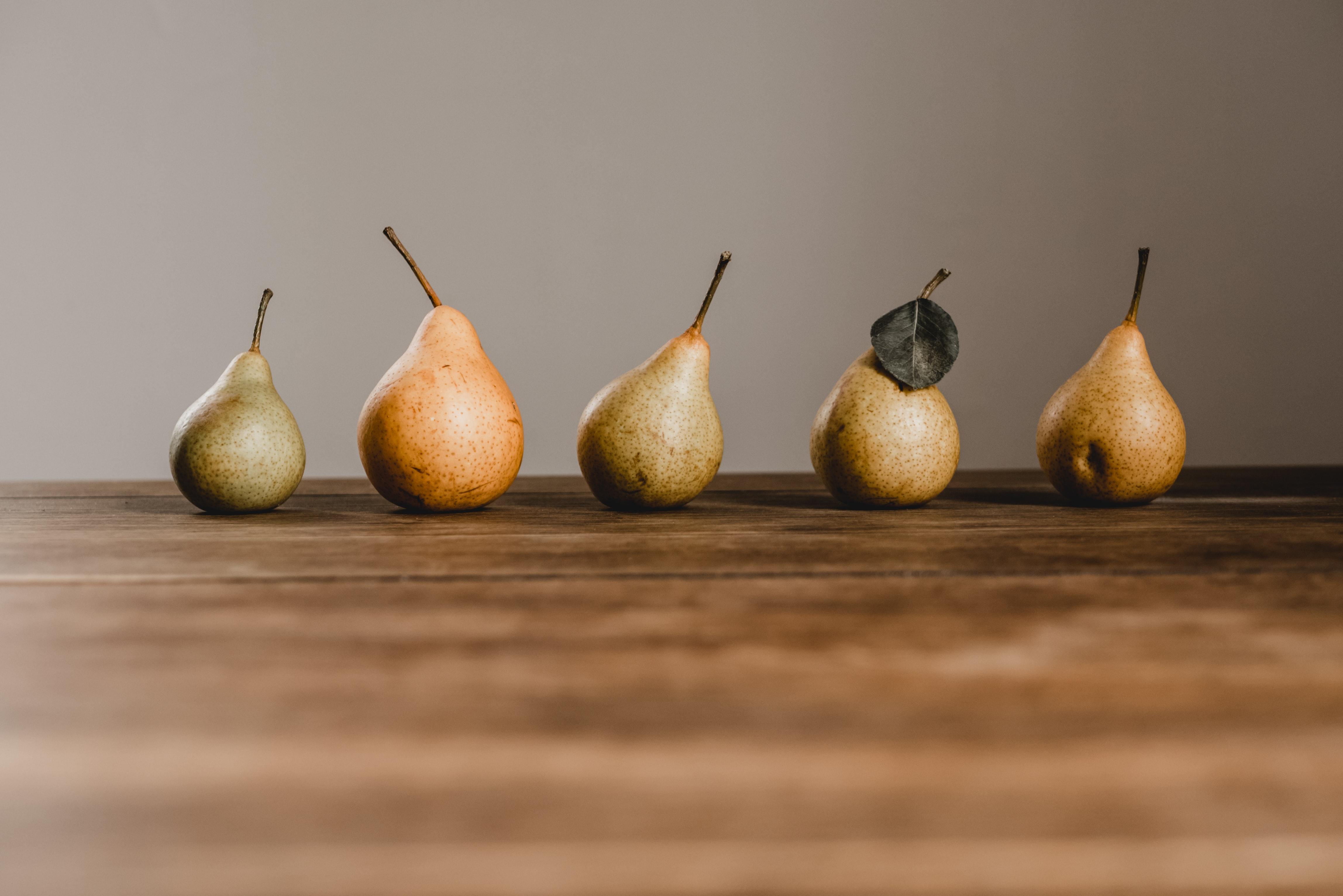 frugt, pære, madspild. (Foto: Unsplash)