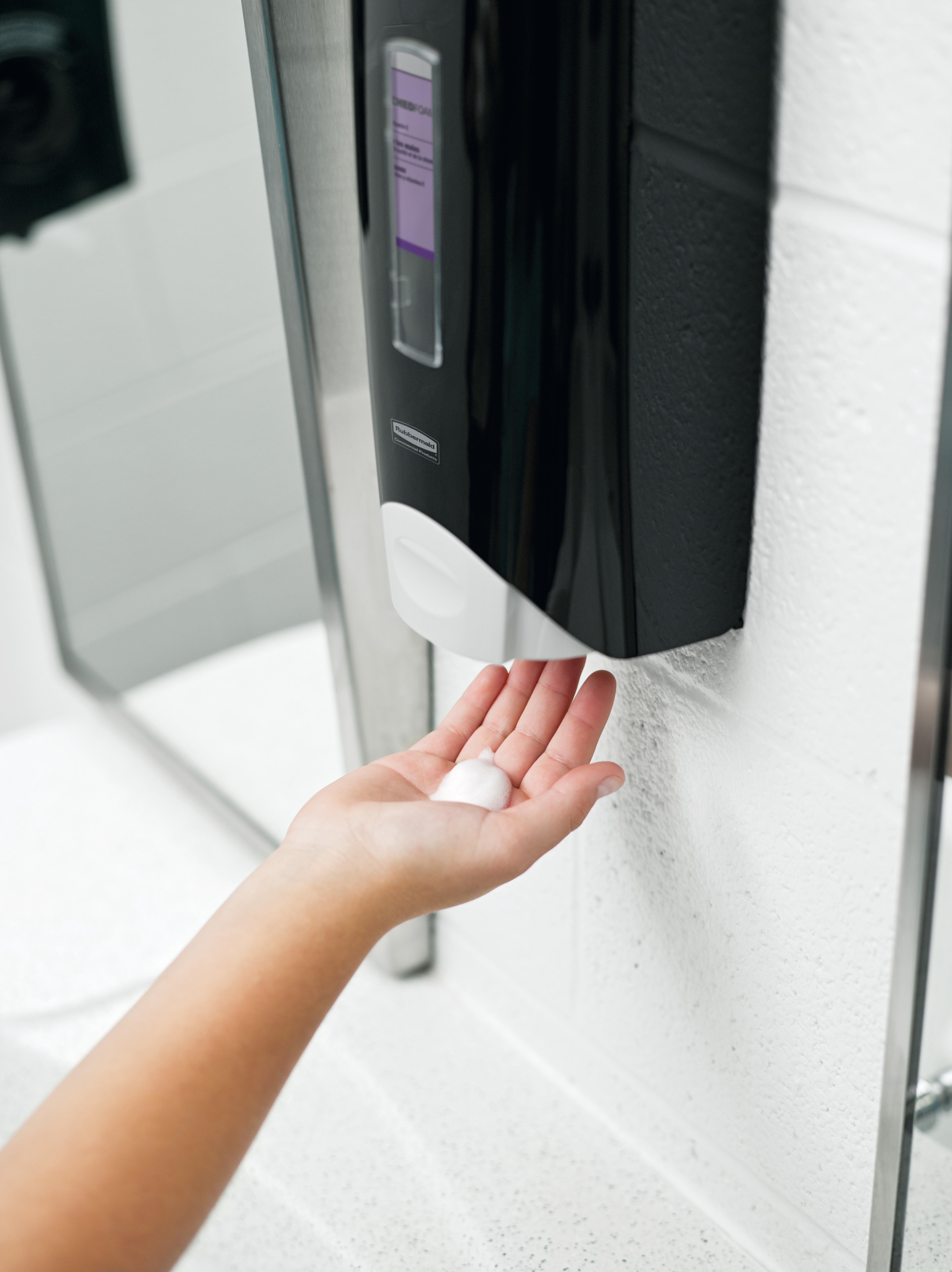 håndsprit dispenser. (Foto: PR)
