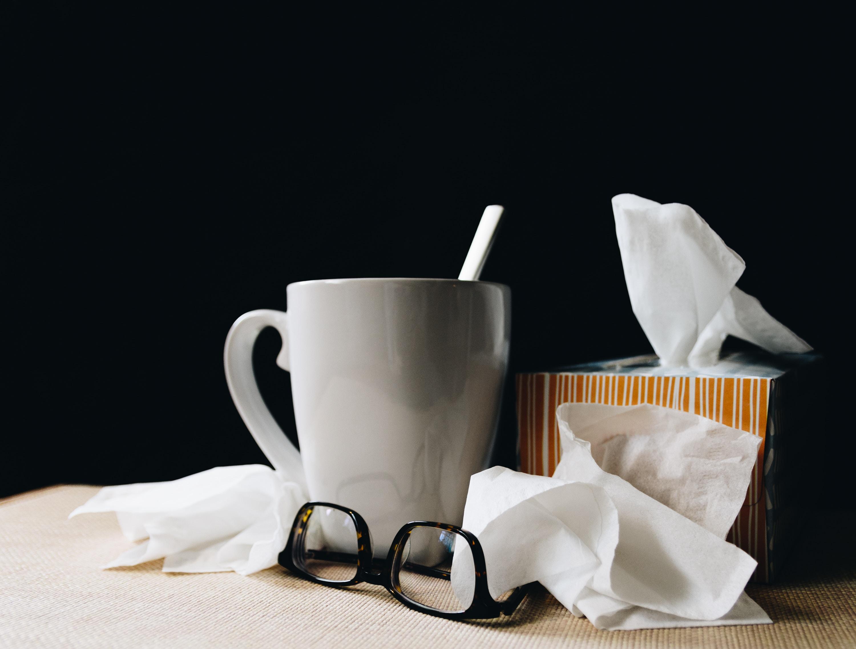 Bakterier og vira skaber panik, hygiejne, syg, sygdom, fravær. (Foto: Unsplash)