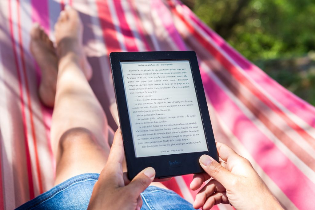 Kindle ebog bog læse bøger (Foto: Unsplash)