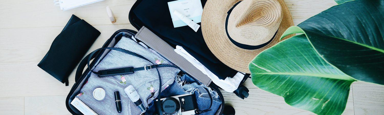 kuffert pakke taske hat rejse fly taske (Foto: Unsplash)