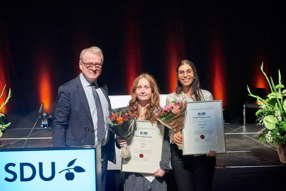 kandidateksamensprisen 2020, Syddansk Universitet. (Foto: PR)