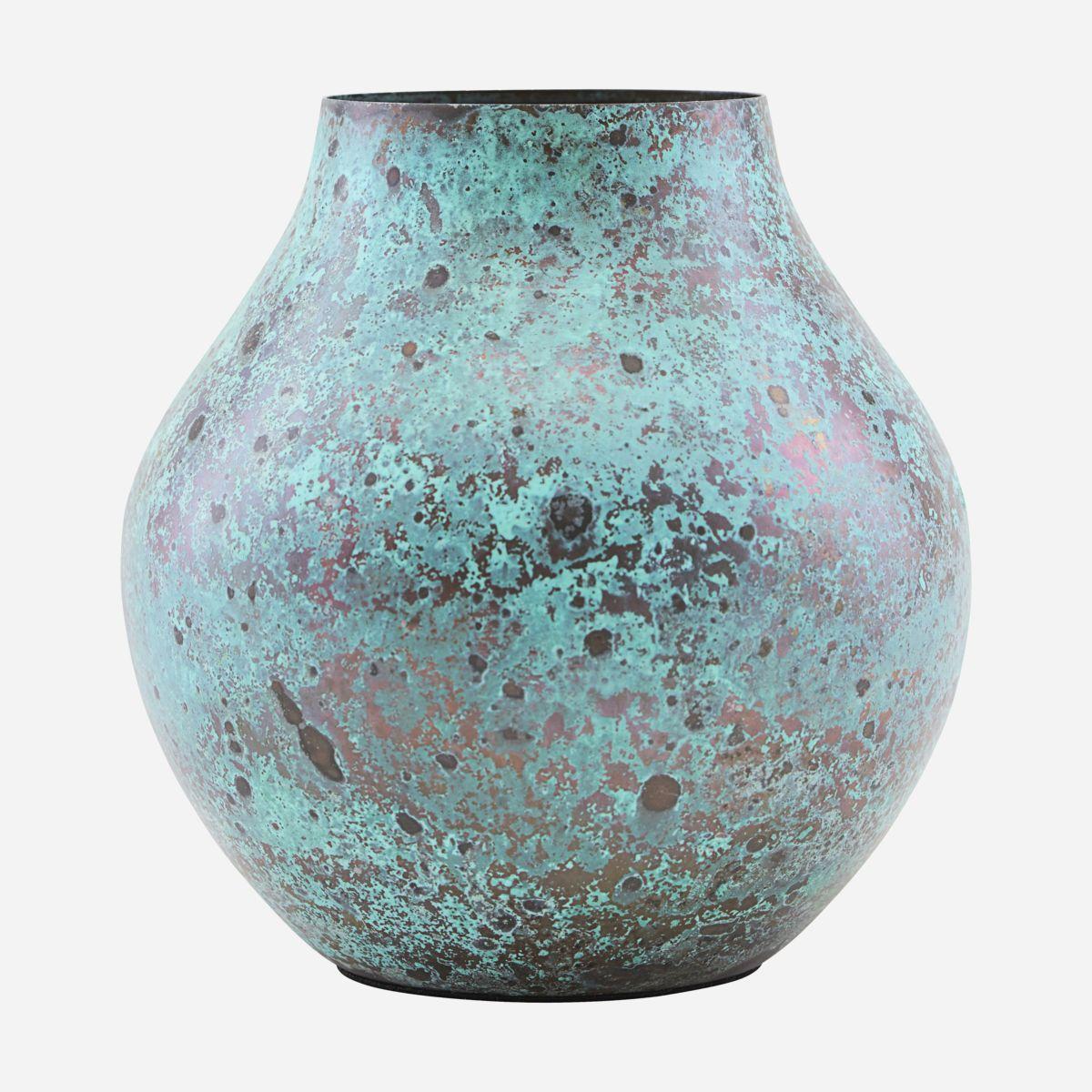 vase, blå. Foto: nordly home