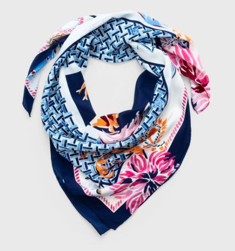 Blomstertørklæde, slike, tørklæde, Gant. (Foto: PR)