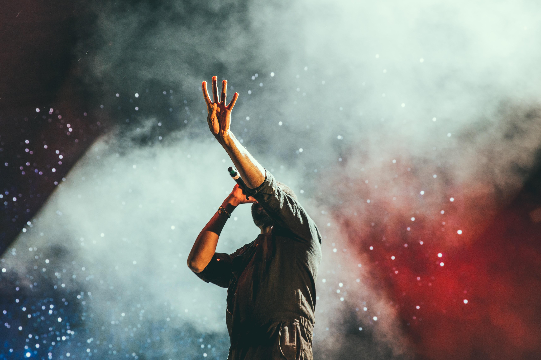 Sanger, singer, mand, Grand prix. (Foto: Unsplash)