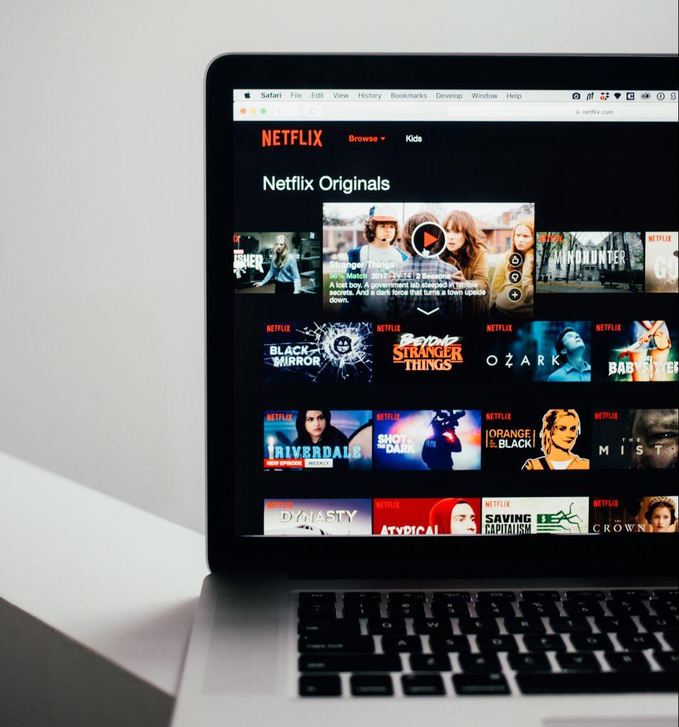 Netflix computer (Foto: Unsplash)