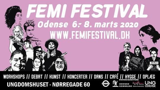 Femi Festival (Foto: Ungdomshuset Odense)