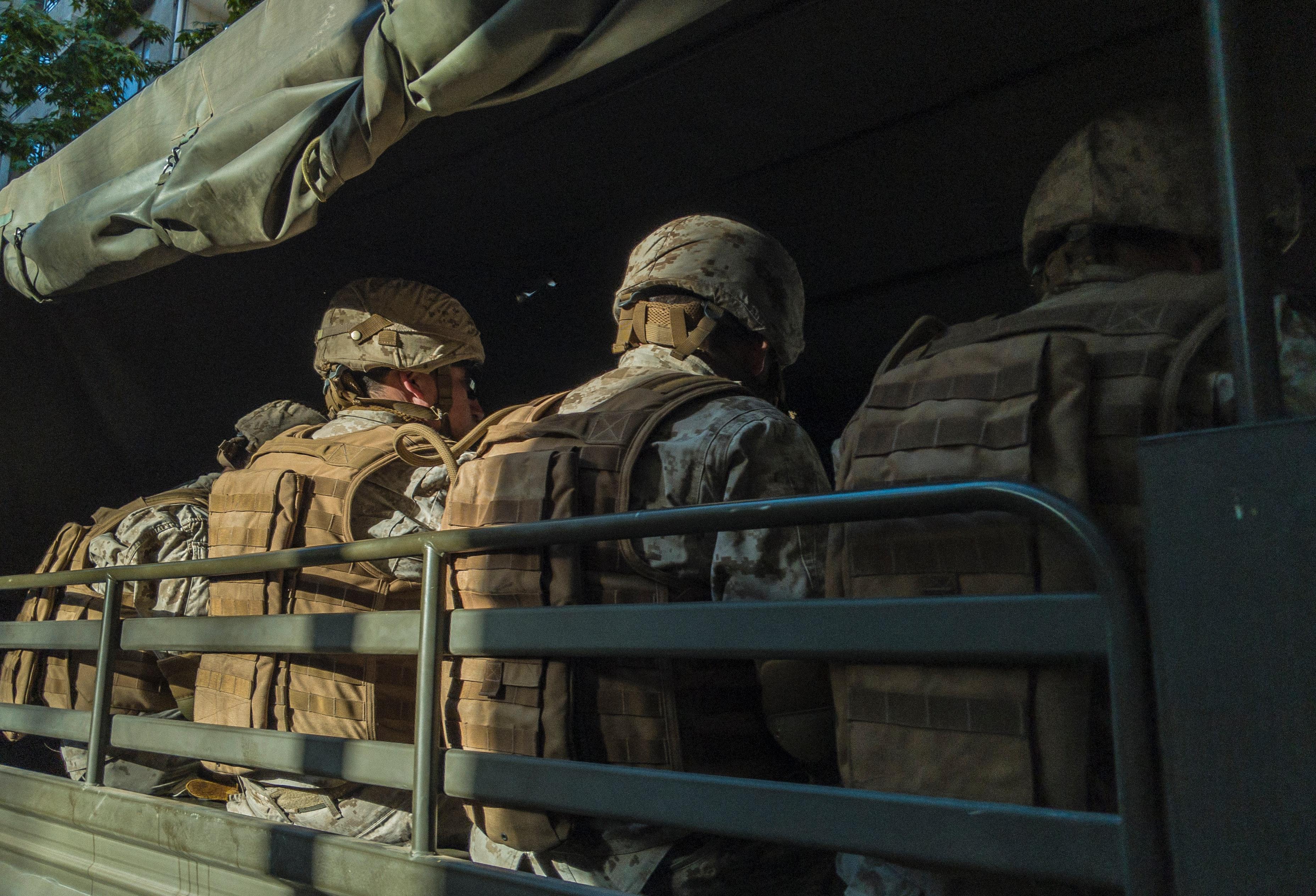Forsvaret, soldater, krig, uniform. (Foto: Unsplash)