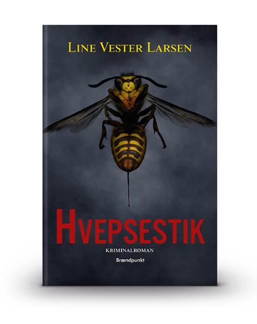 hvepsestik line vester larsen bog krimi debut (Foto: PR)