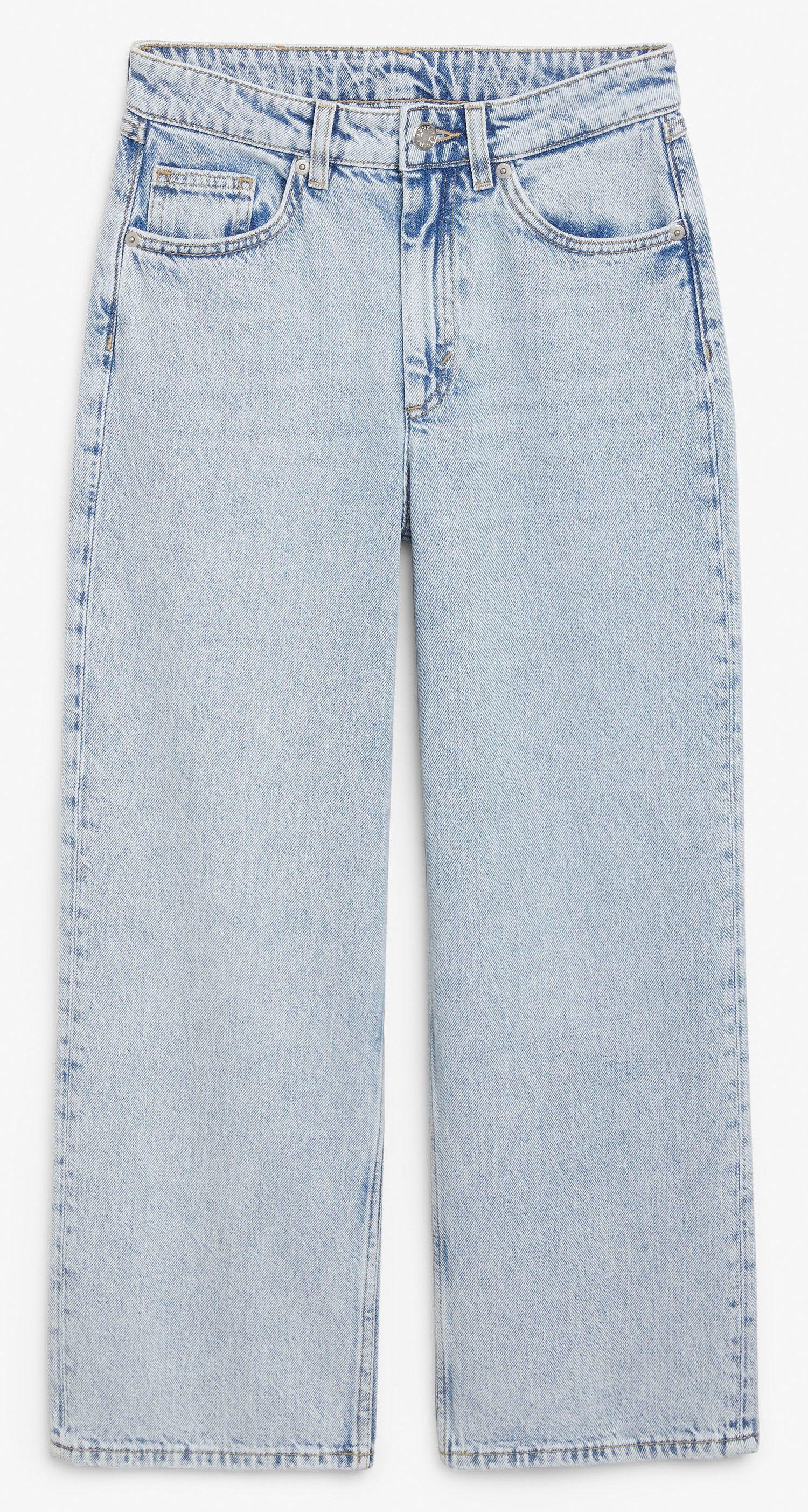 Lyseblåt denim, jeans. (Foto: PR)