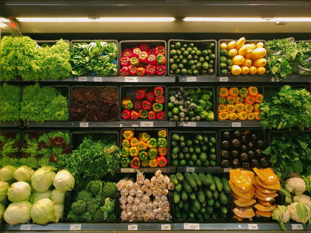 grøntsager supermarked (Foto: Unsplash)