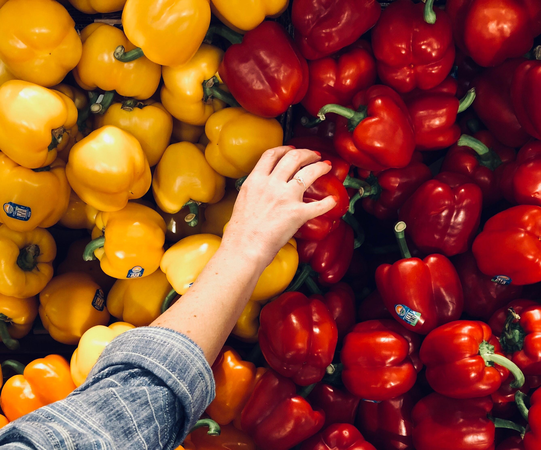 Madspild, bekæmp spild af mad, grøntsager, peberfrugt. (Foto: Unsplash)