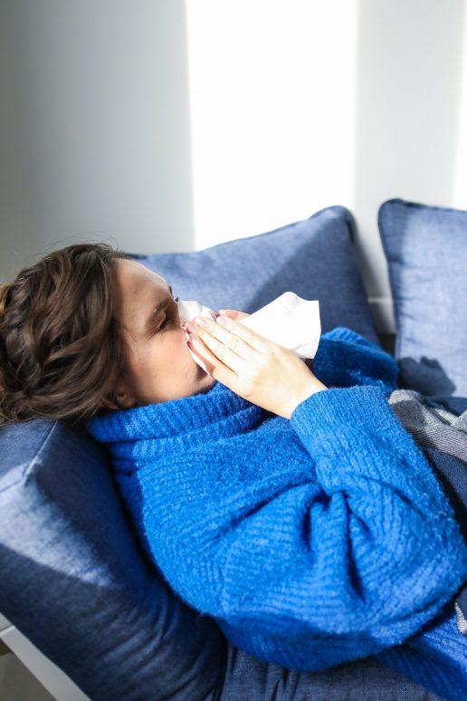 allergi snottet pudse næse syg influenza (Foto: Pexels)