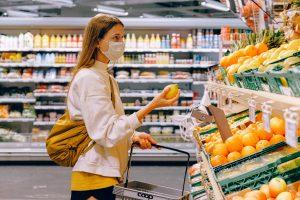 shopping citron handle indkøb mad madvarer dagligvarer varer mad supermarked (Foto: Pexels)