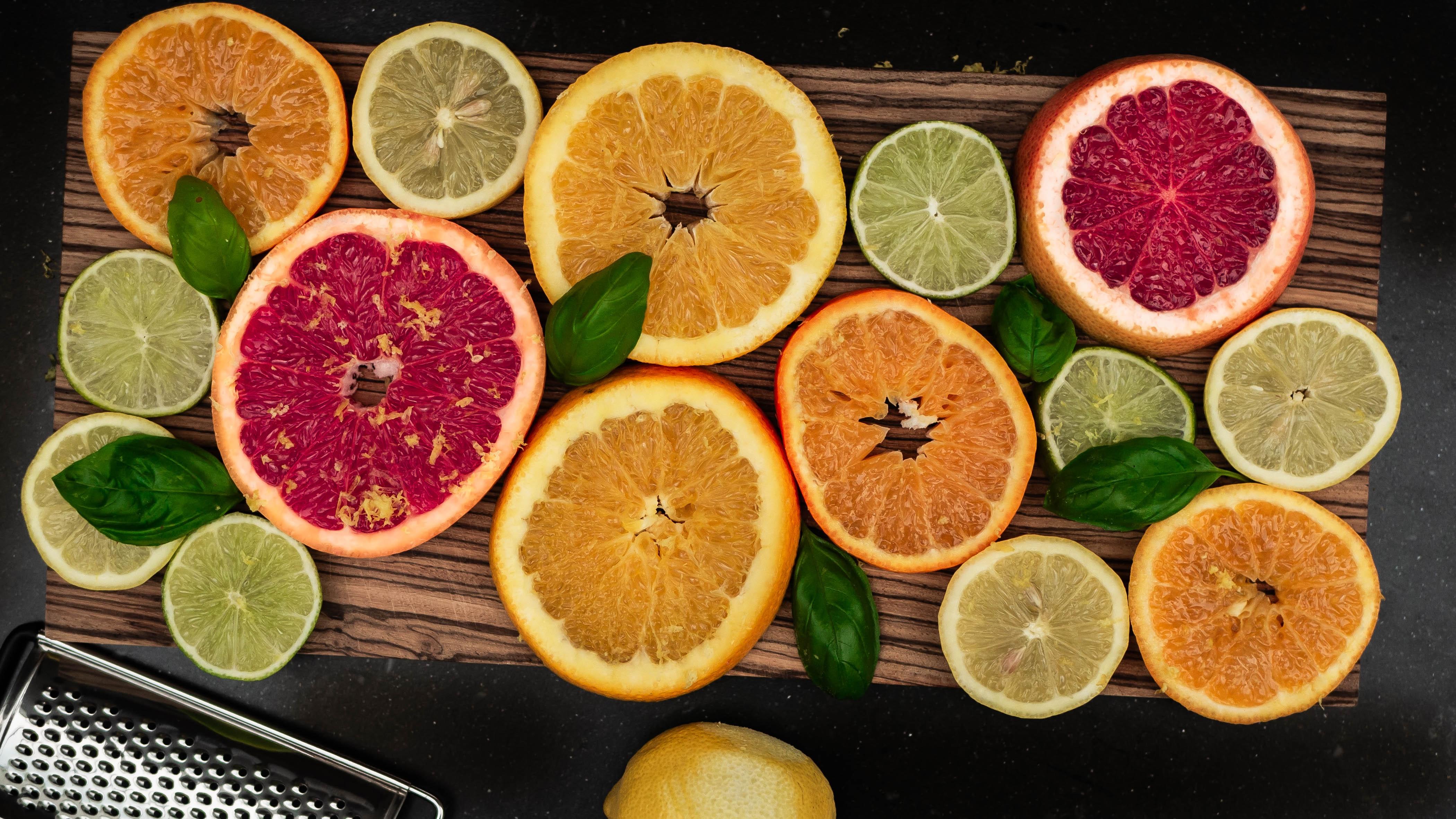 drink, citrus, appelsin, citron, frugt. (Foto: Unsplash)