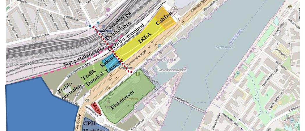 busterminal, dybbølsbro, københavn