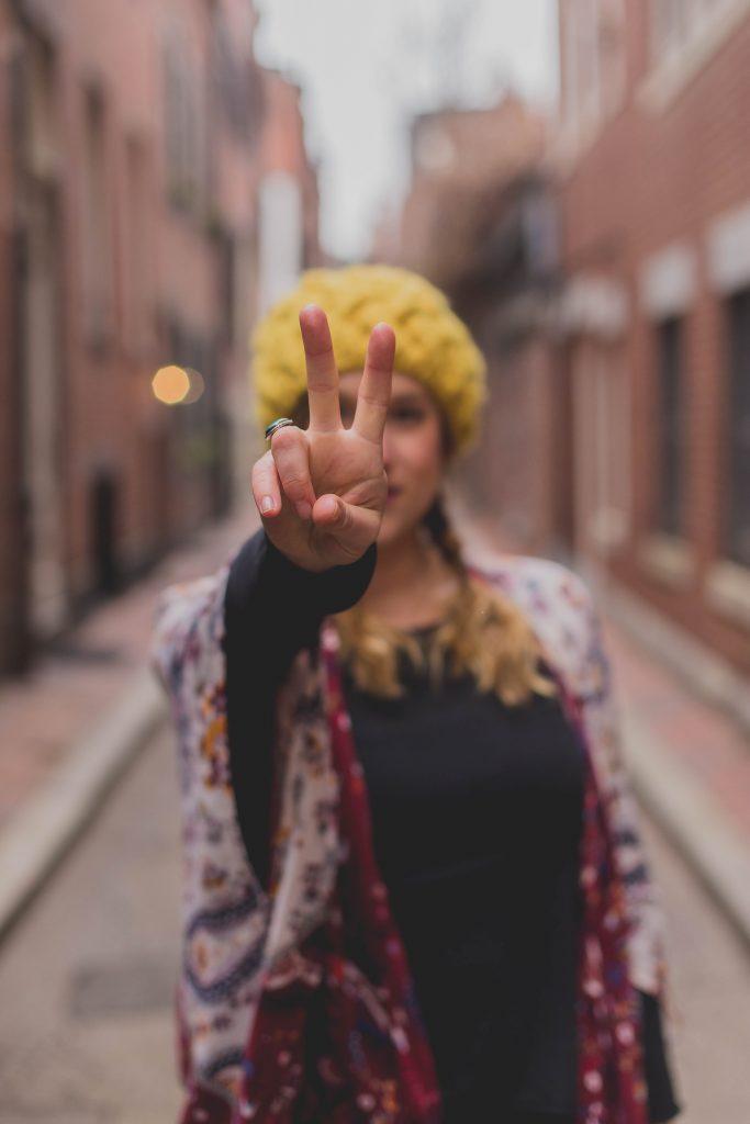 At slå op med en veninde er en svær proces, men du vil forhåbentlig føle en ro bagefter. (Foto: .Unsplash)