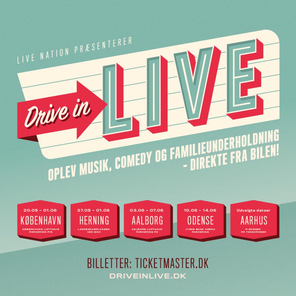 drive in live koncert live nation (Foto: PR)
