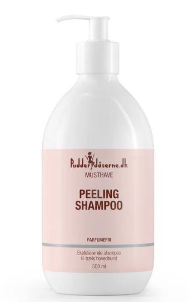 pudderdåserne peeling shampoo