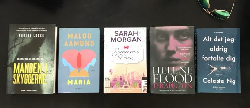 fem på stribe bog bøger (Foto: MY DAILY SPACE)