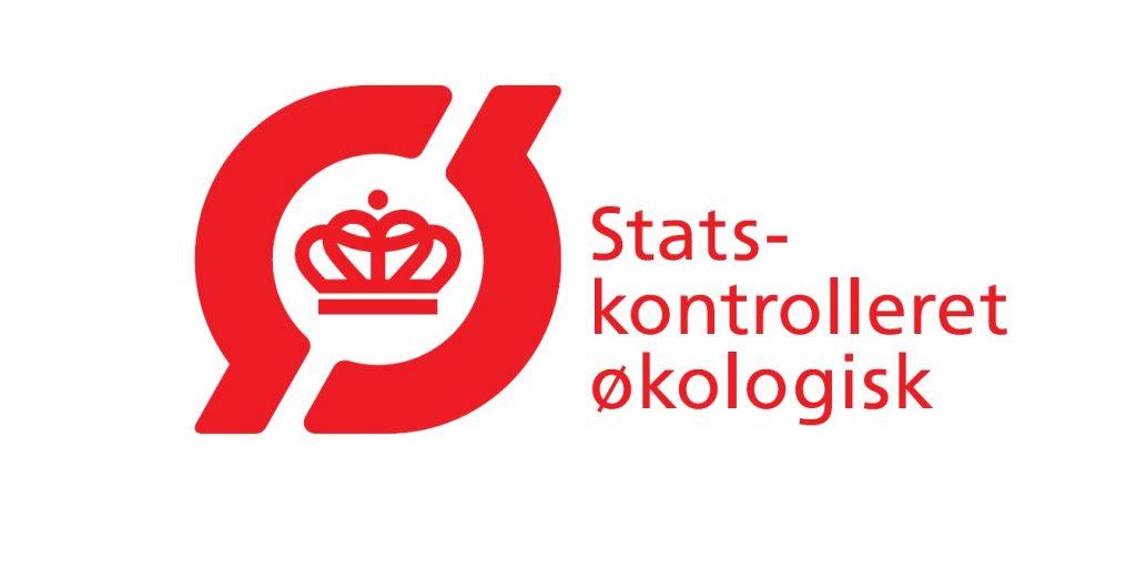 økomærke Logo_Statskontrolleret Økologisk_Rødt_JPG
