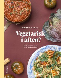 vegetarisk i aften camilla skov bog forside