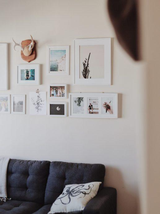 indretning bolig væg (Foto: Unsplash)