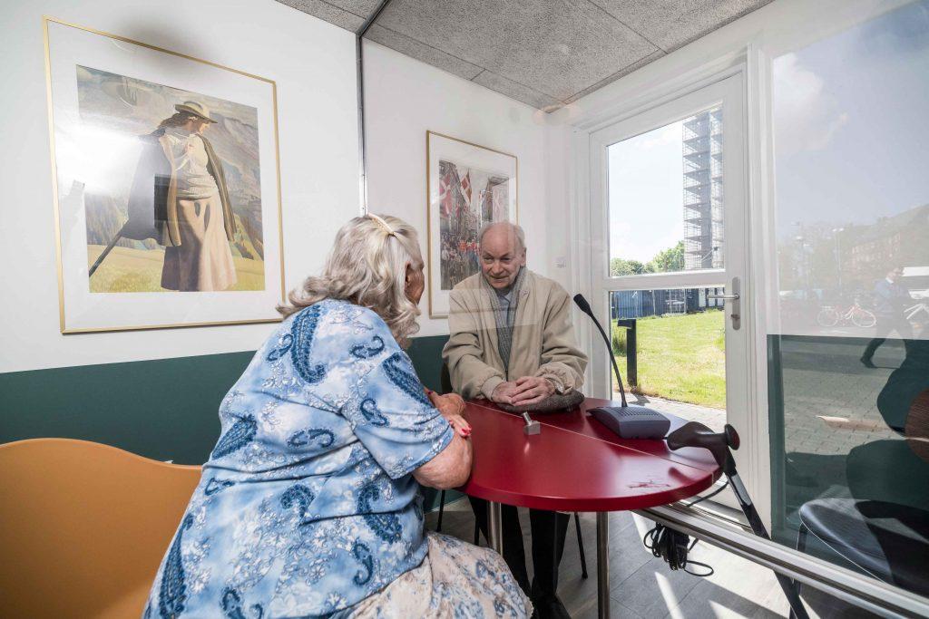 plejehjem ældre mormor morfar farfar personer alderdom (Foto: PR)
