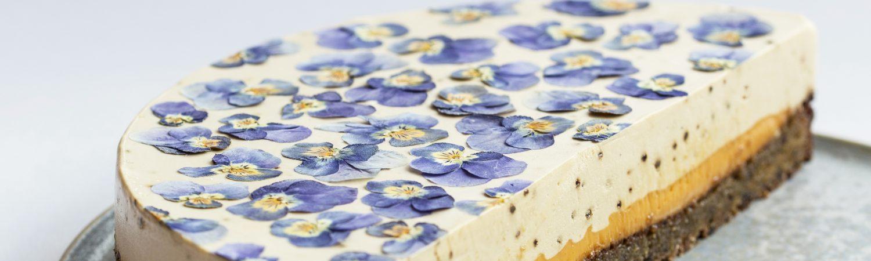 kage pyntebogen tørrede blomster (Foto: Maja Vase)