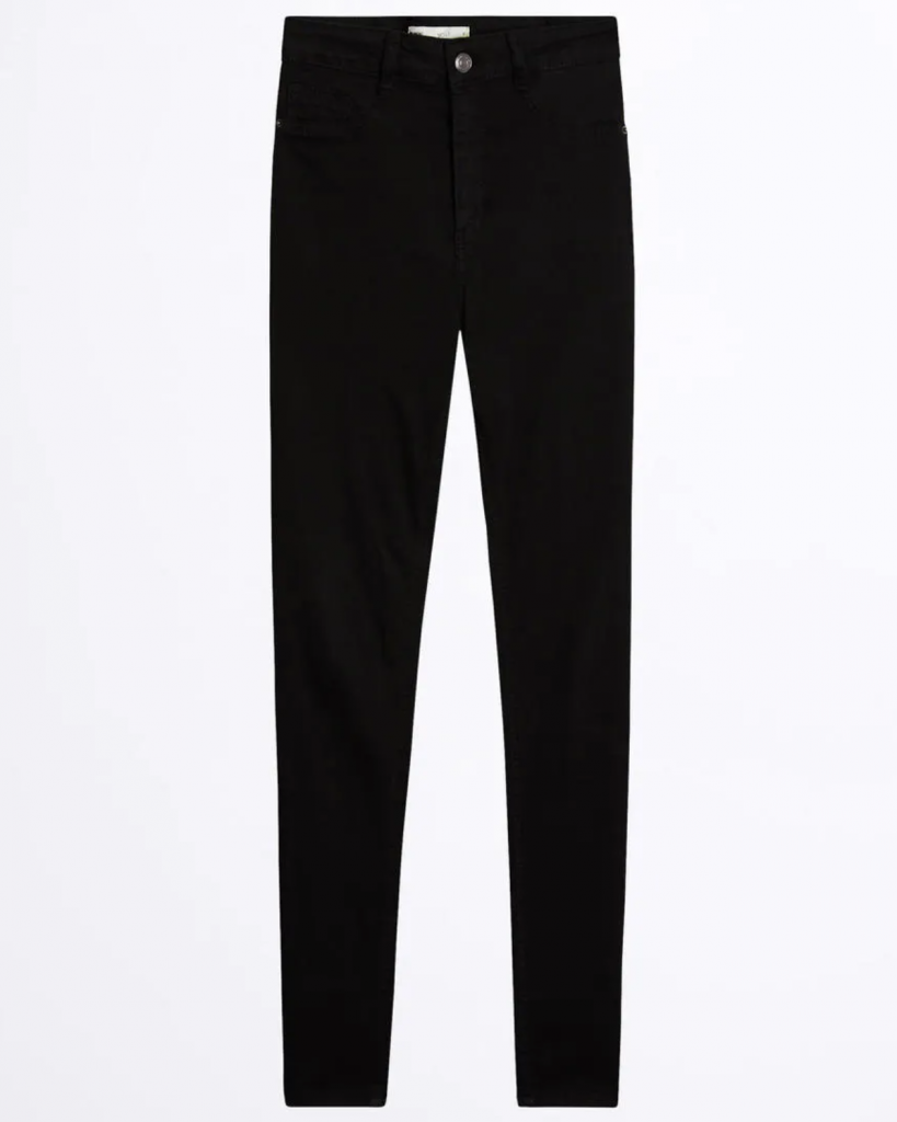 jeans sorte black bukser mode (Foto: Gina Tricot)