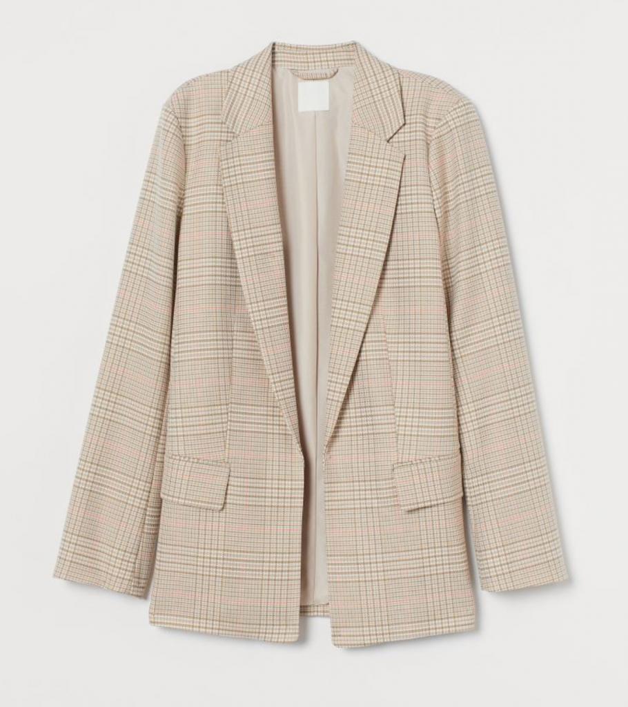 blazer oversized jakke (Foto: H&M)