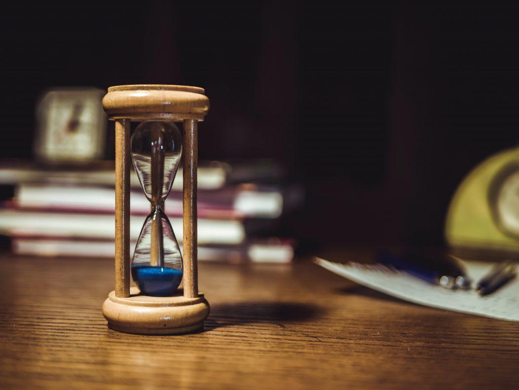 timeglas hourglass tid (Foto: Pexels.com)