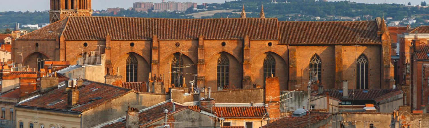 toulouse, frankrig, by, storby