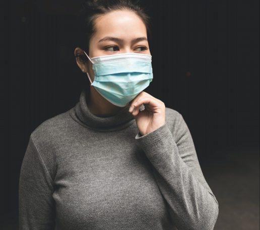 masker maske pige covid-19 (Foto: Unsplash)