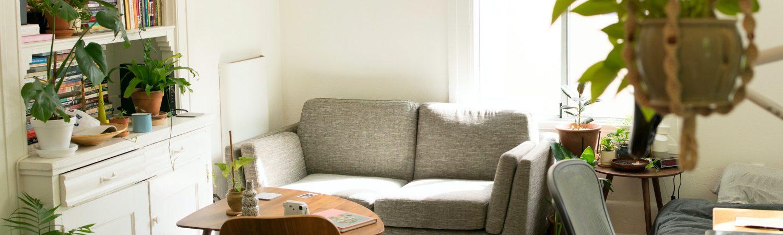 lejlighed apartment bolig ungdomsbolig stue (Foto: Unsplash)
