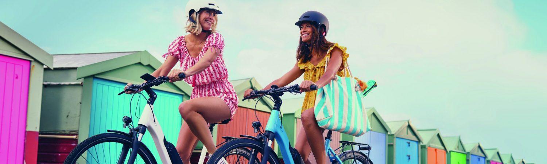 elcykel cykel cykelhjelm piger (Foto: PR)