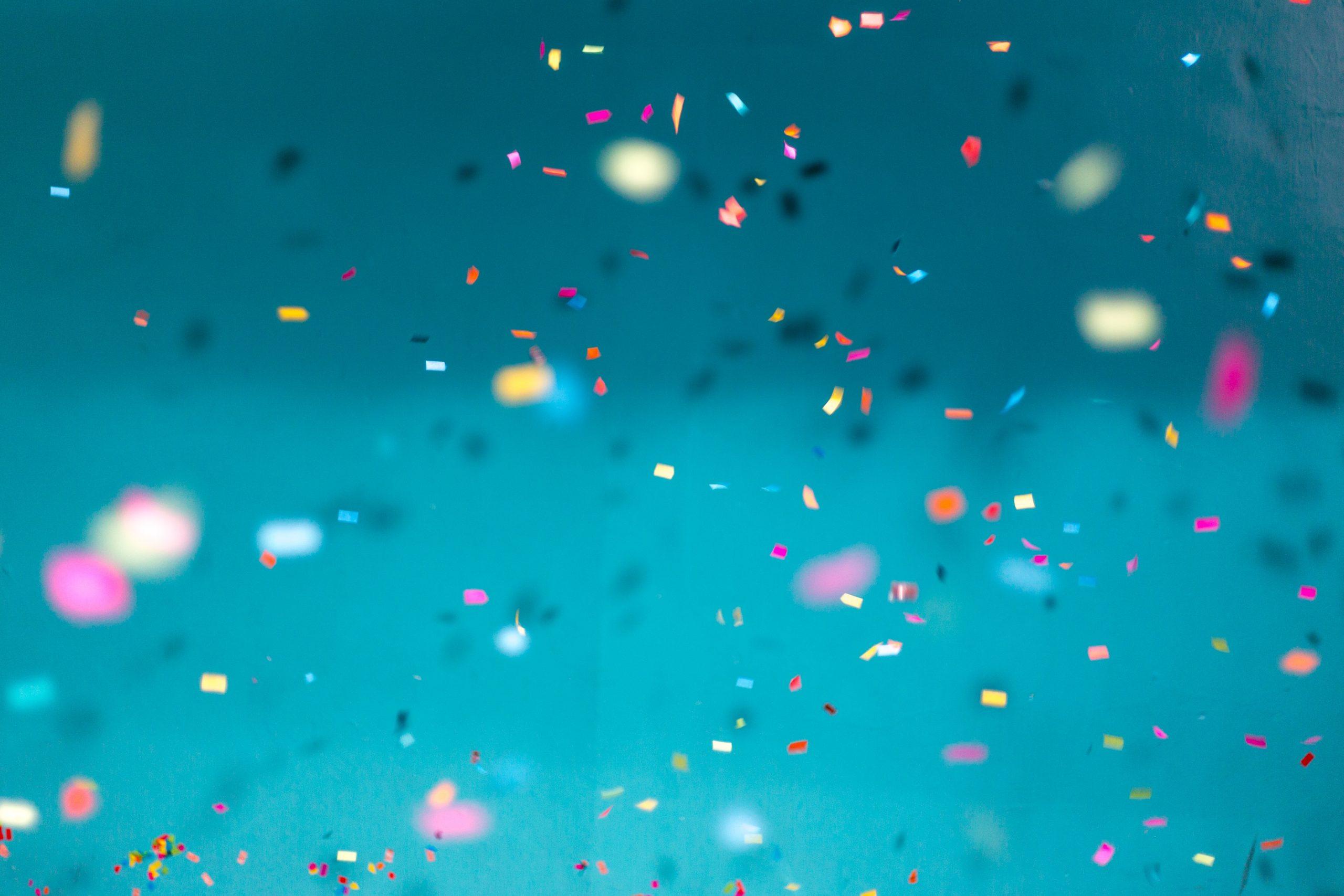 fest, konfetti (Foto: Unsplash)