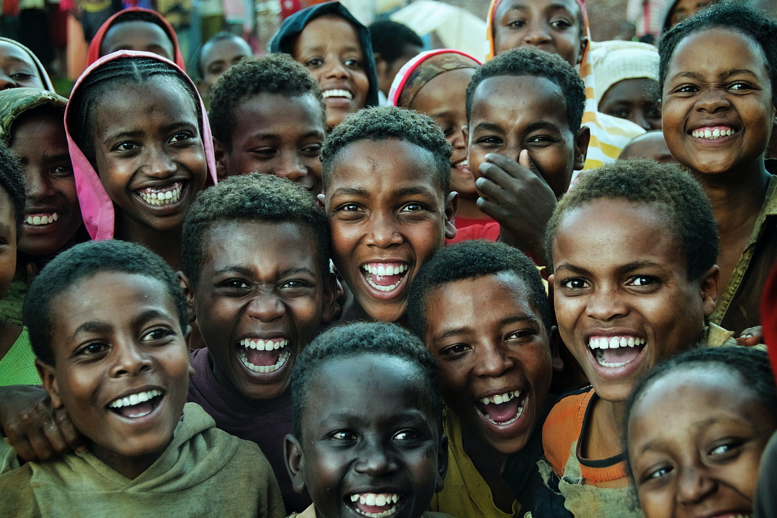 afrikanske børn, glæde (Foto: Unsplash)
