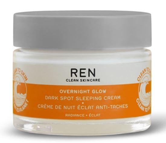 REN dark spot over night cream
