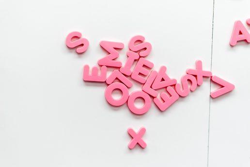 bogstaver, letters (Foto: Unsplash)