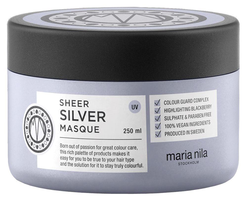 maria nila silver hårmaske