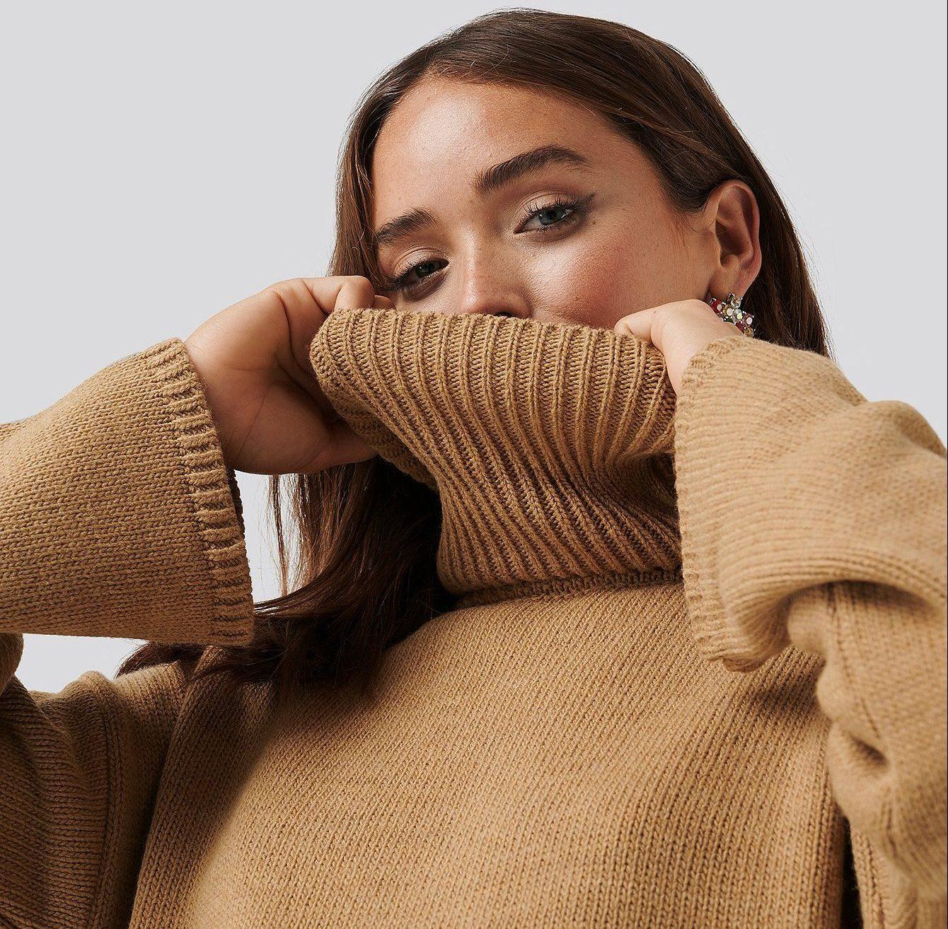 camel, sweater, beige (Foto: NA-KD)