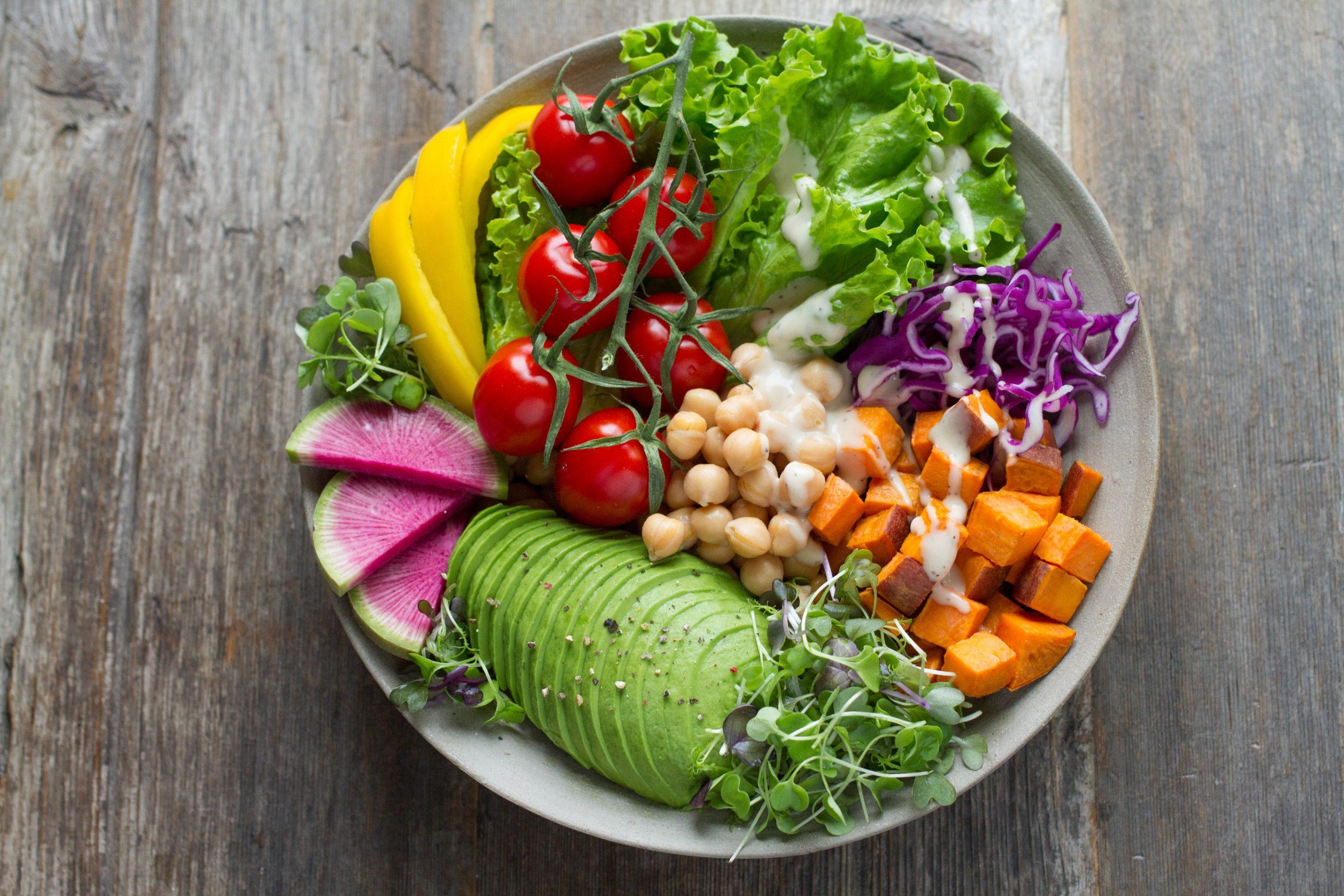 salat, vegetar (Foto: Unsplash)