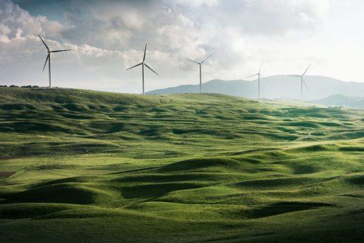 vindmøller (Foto: Unsplash)