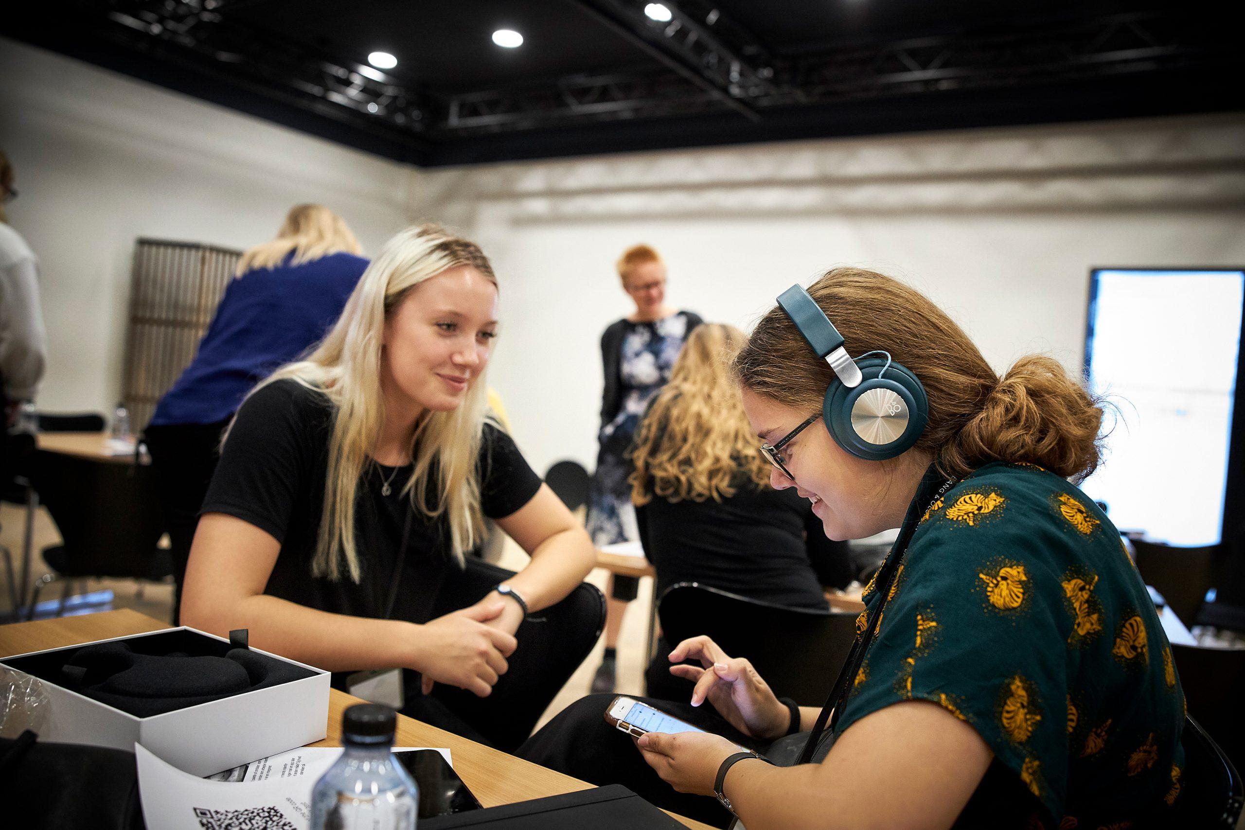 tech, kvinder (Foto: PR Naturvidenskabernes Hus)