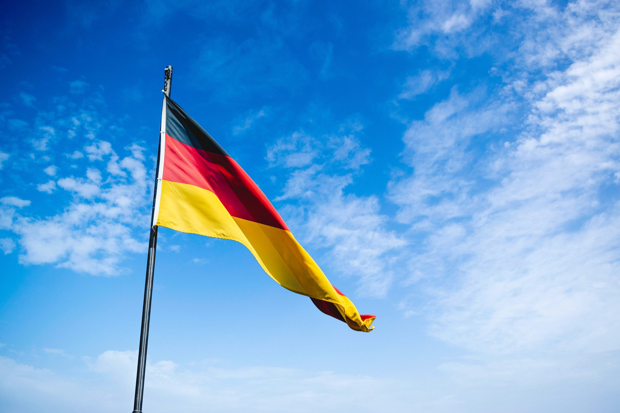 tyskland, flag (Foto: Unsplash)