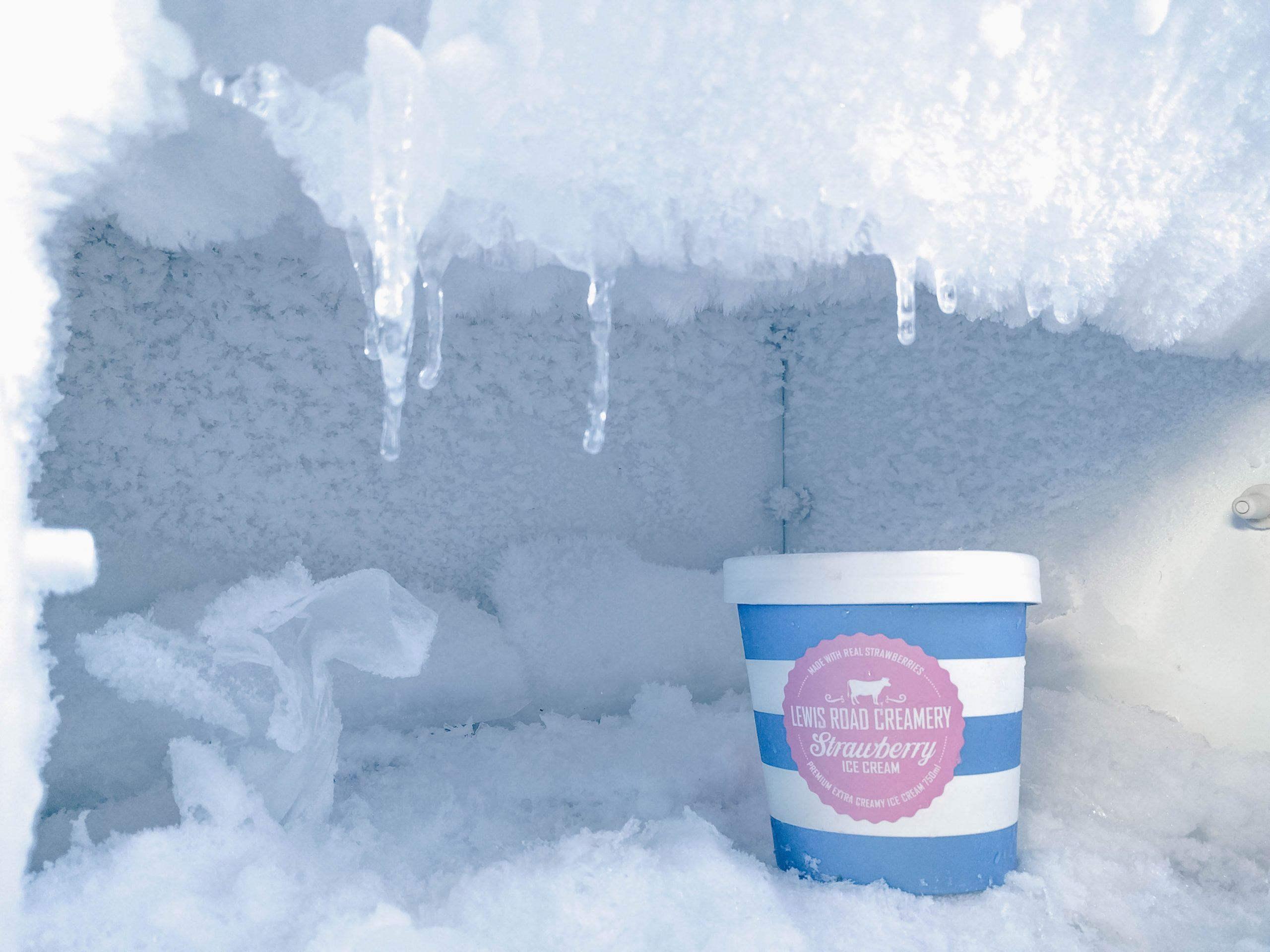 fryser, is, frys Foto: Unsplash)