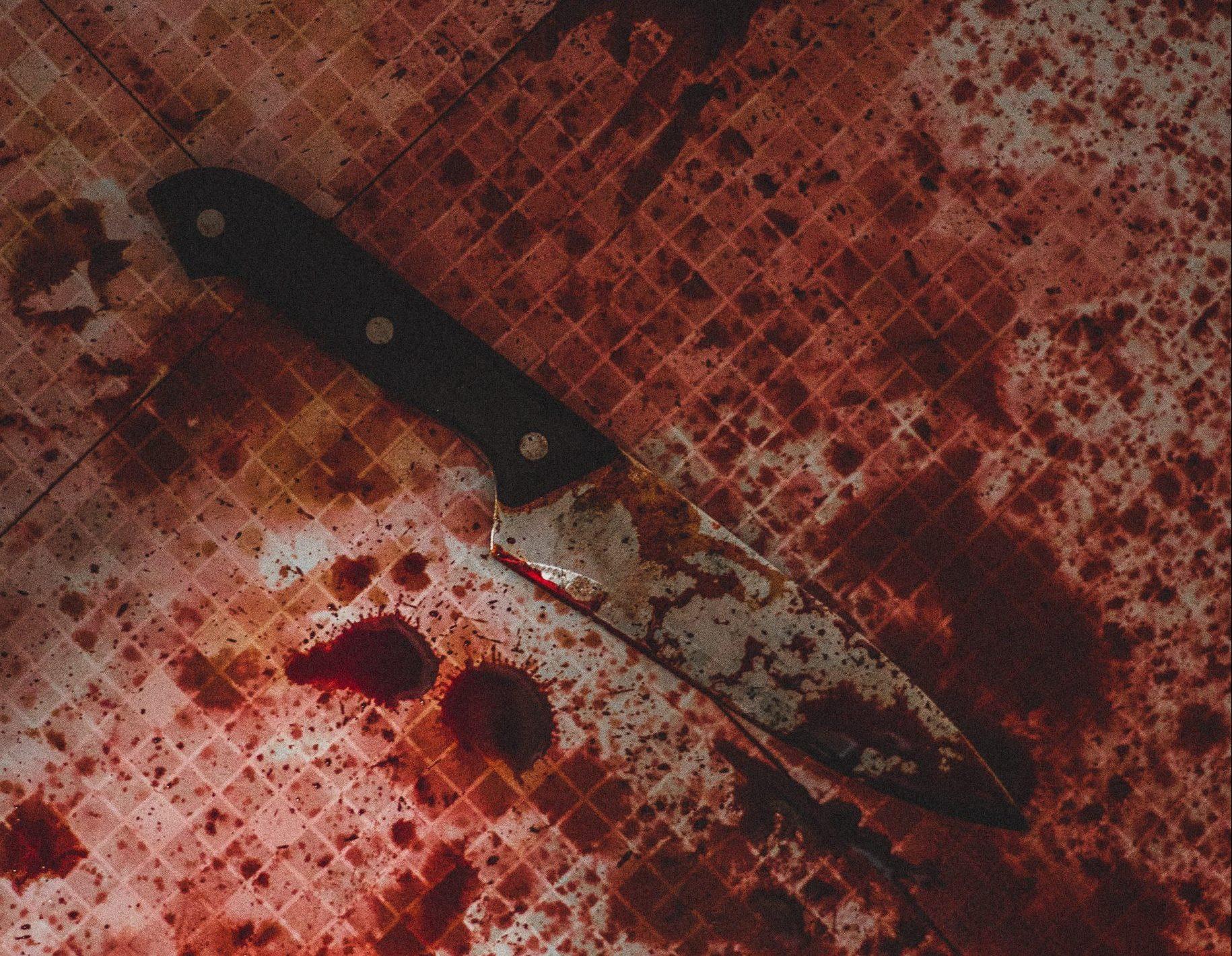 kniv, mordere, blod (Foto: Unsplash)