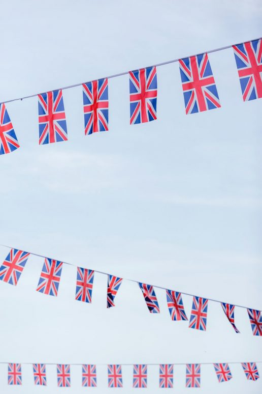 britisk flag (Foto: Unsplash)