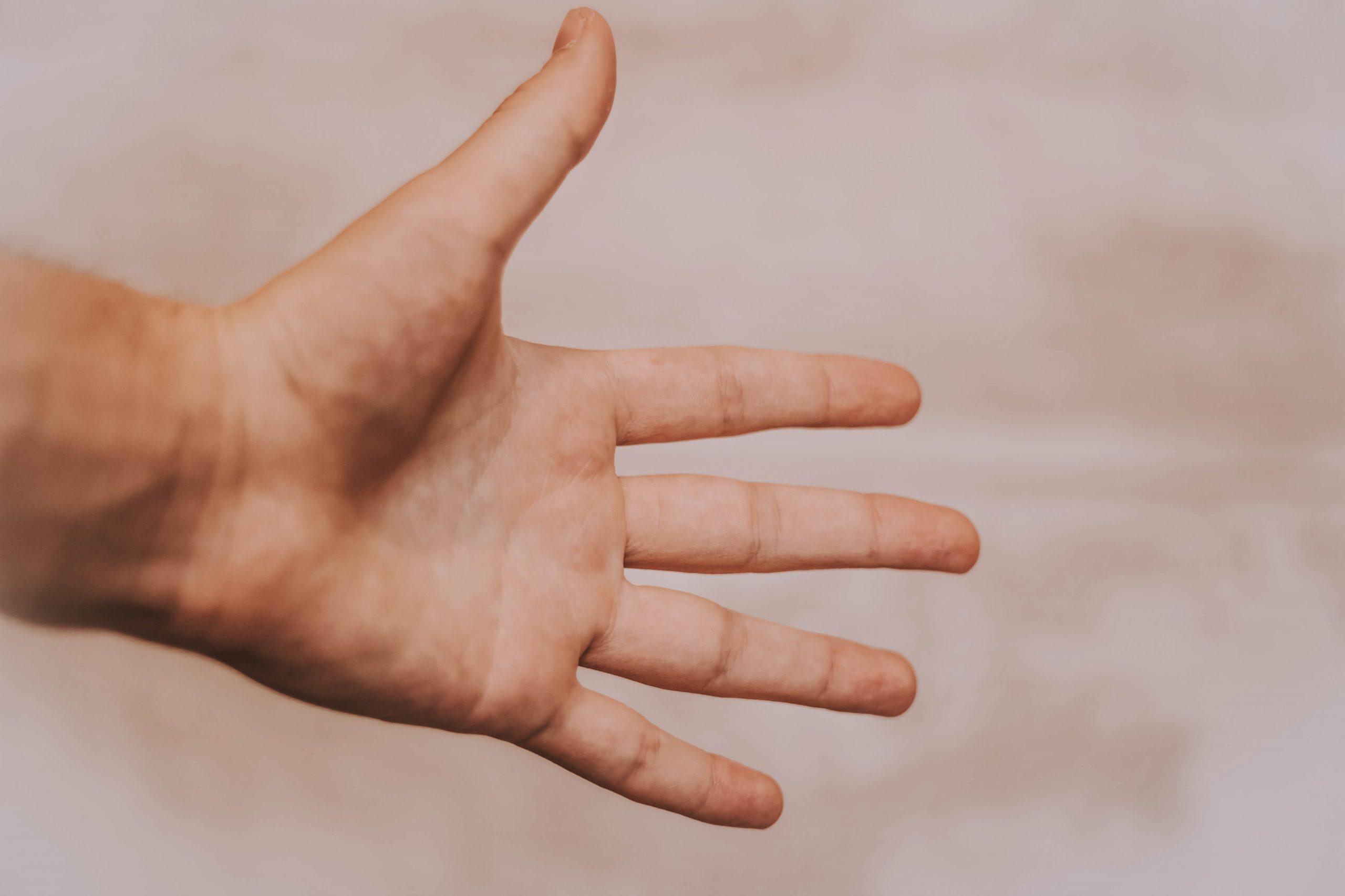 hånd, gestik, (Foto: Unsplash)